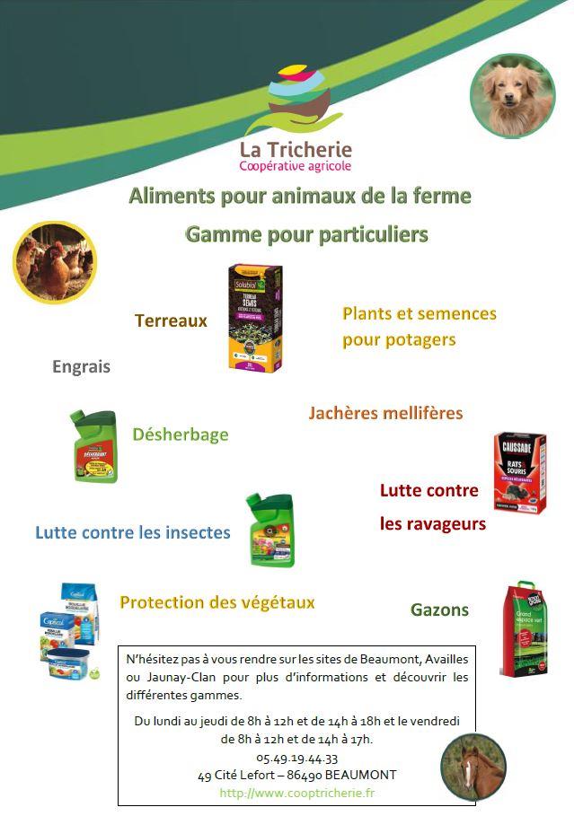 Image Flyer Gammes Aliments et Particuliers