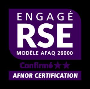 Logo Label RSE Niveau Confirmé